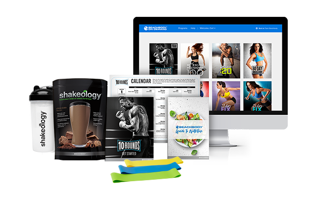 10 Rounds and Shakeology Bundle