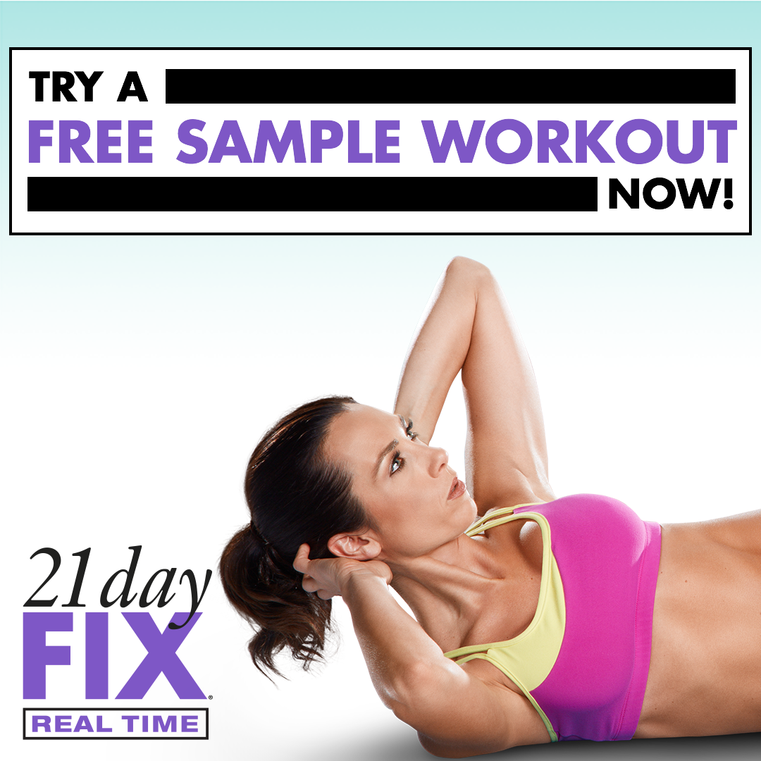 21 Day Fix Sample Real Time Workout