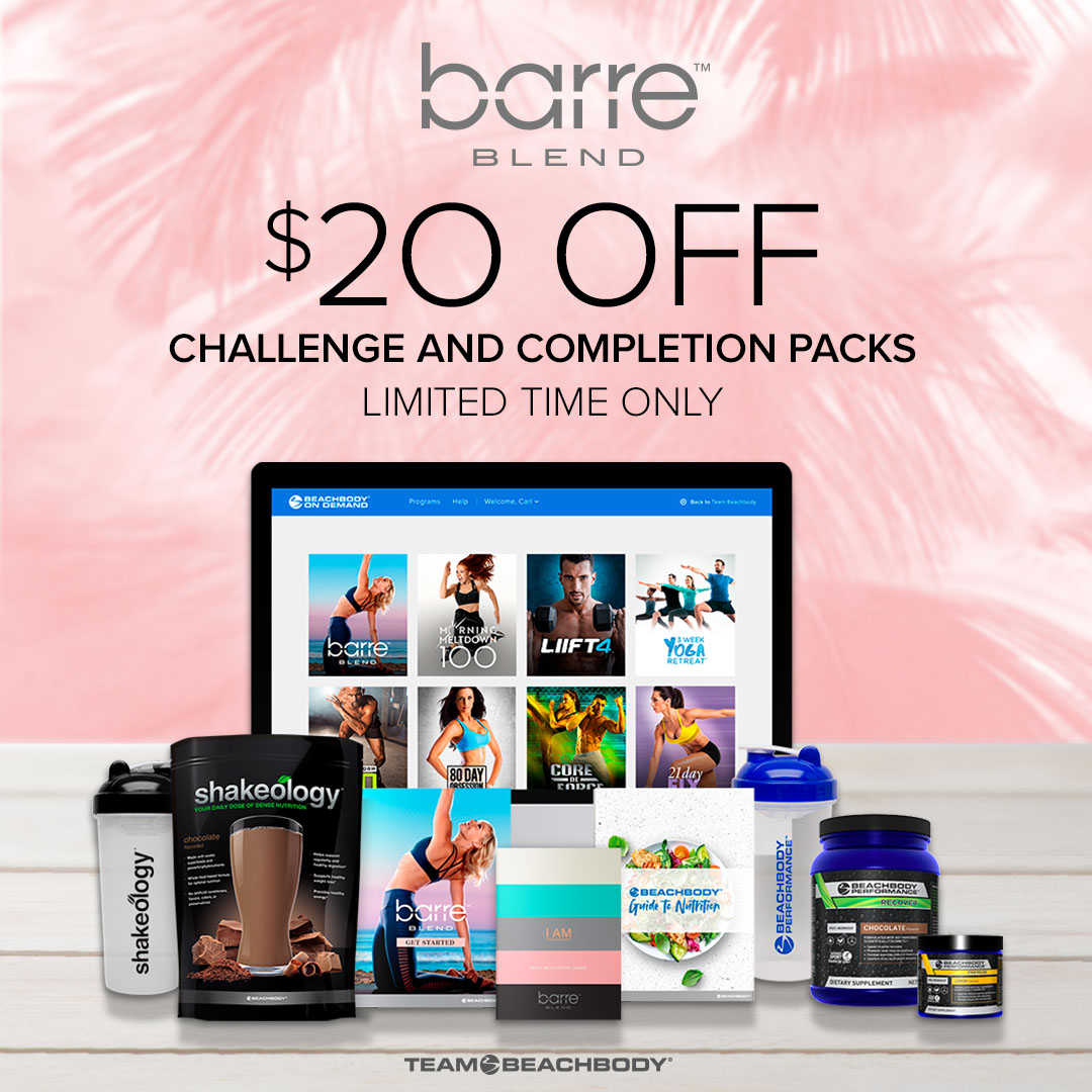 Save $20.00 on Barre Blend