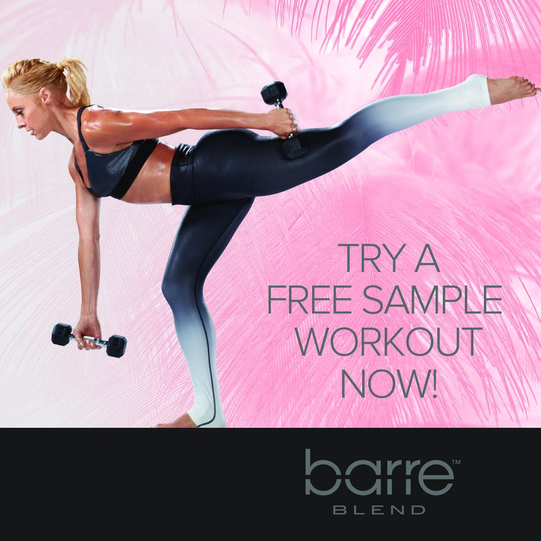 Barre Blend Free Sample Workout