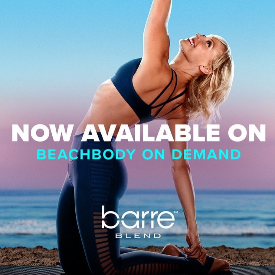 Barre Blend Now Available on Beachbody On Demand