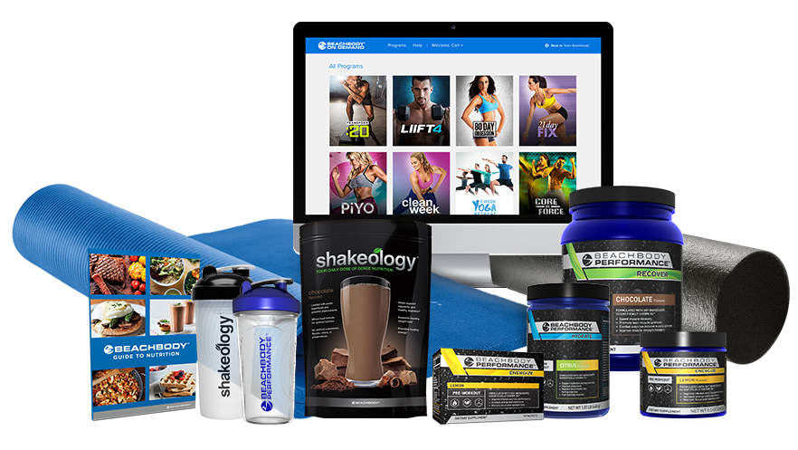 Team Beachbody Challenge Packs