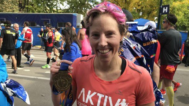 Kikkan Randall New York City Marathon