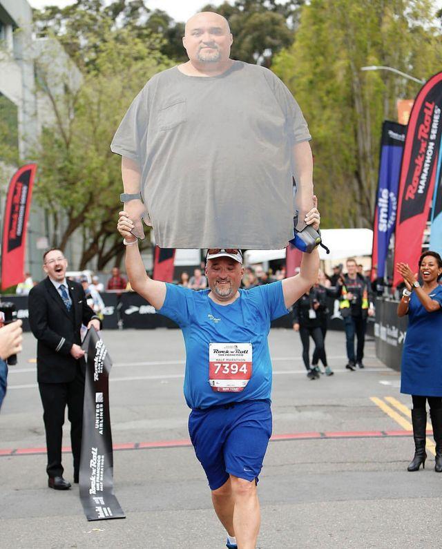 Marcus Cook New York City Marathon