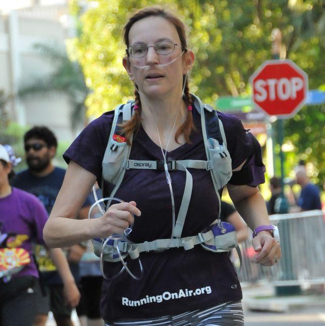 Mary Kilowski New York City Marathon