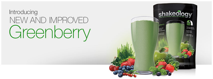 New and Improved Greenberry Shakeology