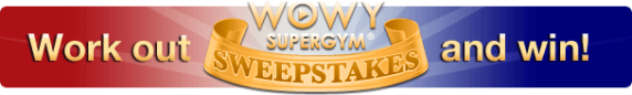 WOWY SuperGym Daily Sweepstakes