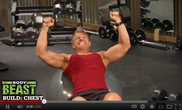 Sean Lowe Doing Body Beast