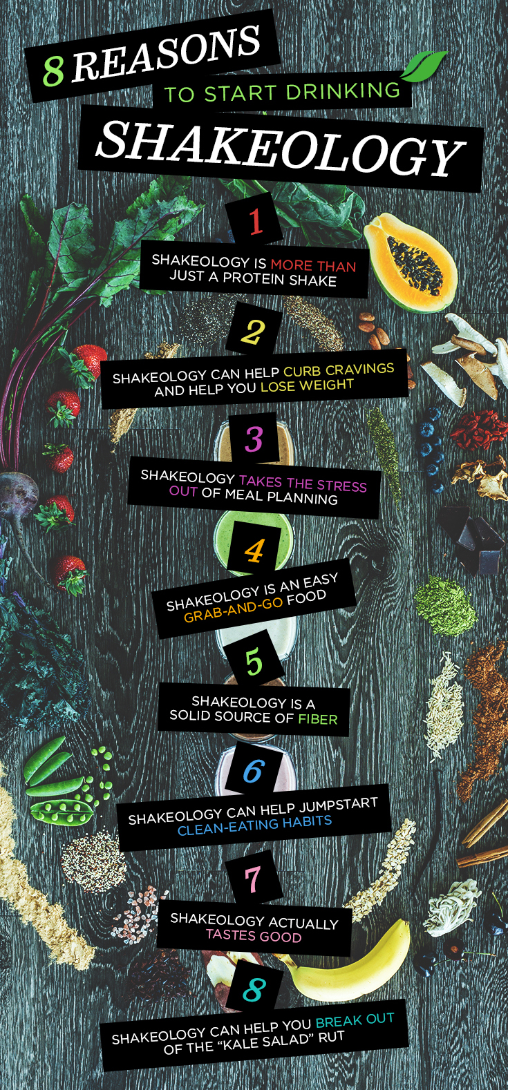 8 Reasons to Drink Shakeology