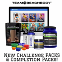 Beachbody Challenge and Completion Pack bundles